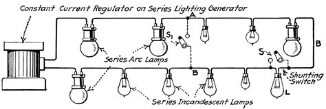 series light circuit series lighting circuits clipart etc