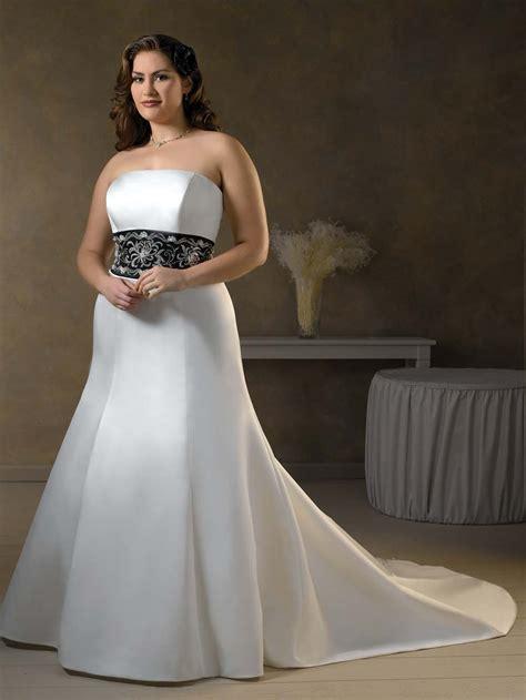 cheap plus size wedding dresses with color liTJ   Dresses