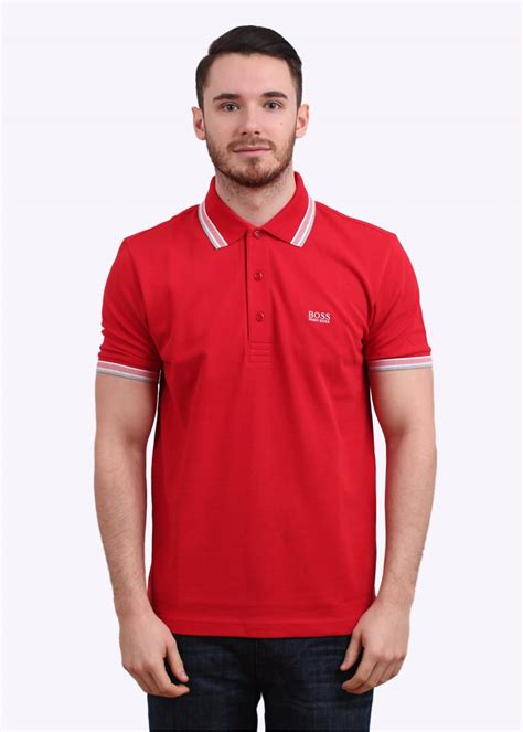 Polos Medium hugo paddy polo shirt medium