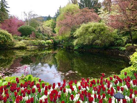 Vancouver Island Botanical Gardens Butchart Gardens Bc Botanical Gardens In Columbia Canada