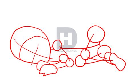 How To Draw A Newborn Baby Step By Step