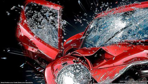 Car Wallpaper 3d For Desktop by 3d Crash Car Wallpapers Hd Desktop Wallpaper Background