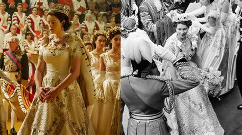 film of queen elizabeth s coronation how netflix s the crown re created elizabeth ii s