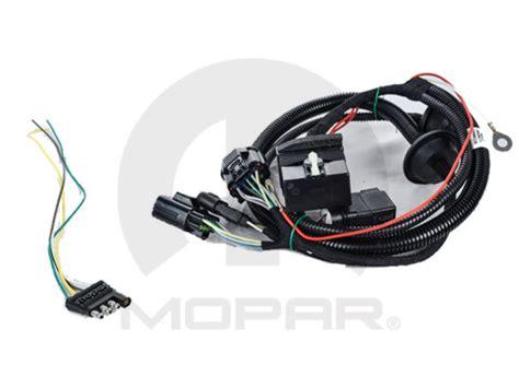 trailer tow wiring harness mopar 82209473ab