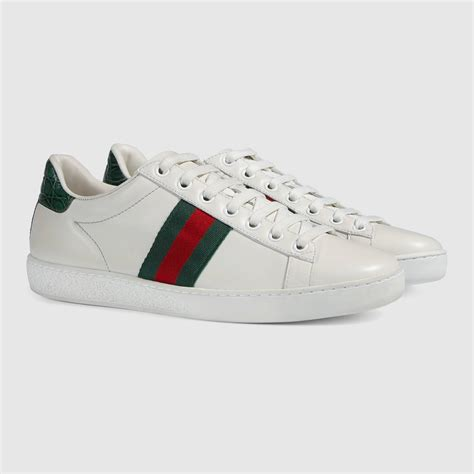 gucci shoes ace leather low top sneaker gucci s sneakers
