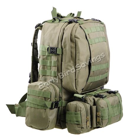 hiking rucksacks army green rucksacks tactical backpack cing