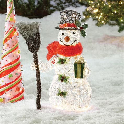 christmas decorations landscape lawn decorations ideas celebration all about