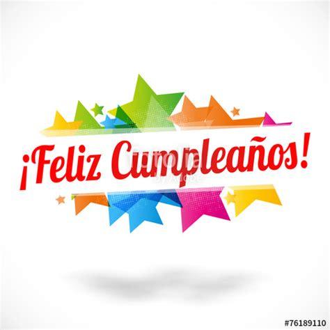 happy birthday design in coreldraw quot feliz cumplea 241 os quot stock image and royalty free vector