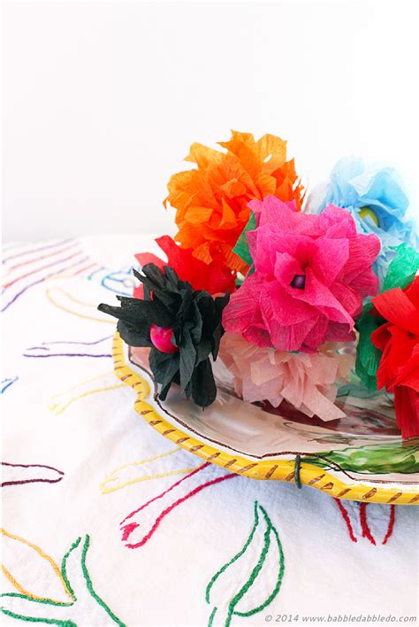 Learn How To Make Paper Flowers - how to make paper flowers in 5 minutes using crepe paper