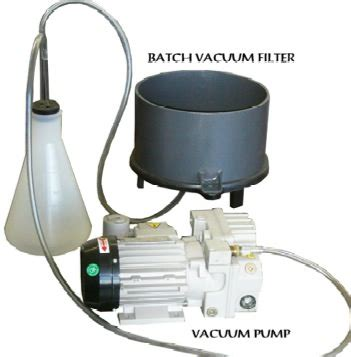 Vaccum Distillation Laboratory Batch Vacuum Filter Sepor