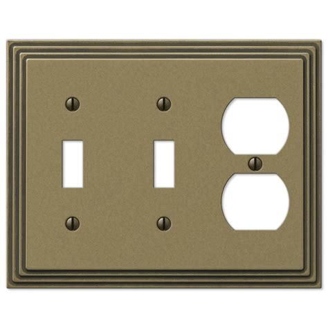 amerelle grayson 1 duplex wall plate copper and the home justswitchplates com offers amerelle wallplates amr