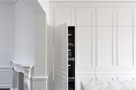 contemporary kitchen hidden elegant wall panels idesignarch interior design architecture interior decorating emagazine