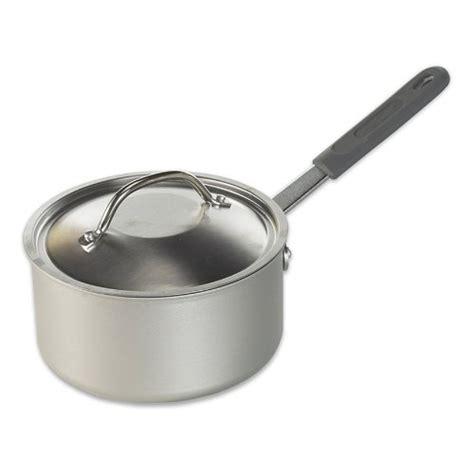 Restaurant Kitchen Pans by Nordic Ware Restaurant Cookware 1 5 Quart Saucepan With