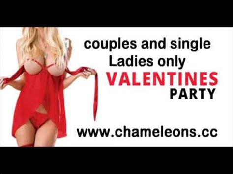 chameleons swinging club valentines party chameleons swingers club youtube