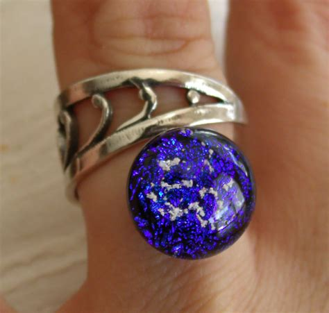 cremation jewelry ring sterling silver adjustable filligree