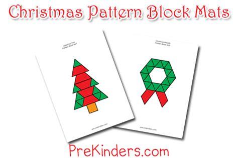 printable christmas tree tangram christmas pattern blocks prekinders