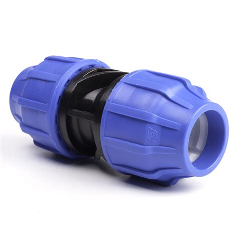 Socket Skun Joint Slip Connector 6mm coupling mdpe pipe fittings compression pipestock