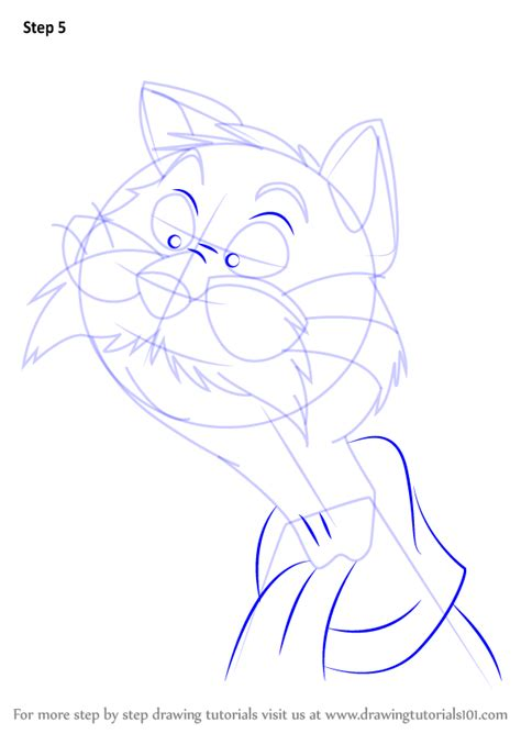 tutorial rufus learn how to draw rufus from the rescuers the rescuers