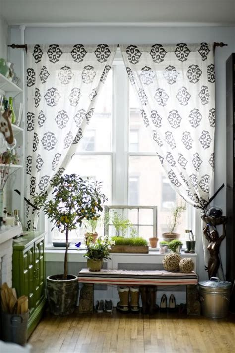 flowy curtains window plants wanna do this look in my bedroom like the