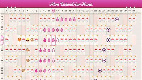 Calendrier Ovulation Et Regle Mon Calendrier De Nana Dans L App Store