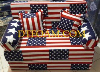Berapa Sofa Bed Anak kasur motif bendera dtfoam