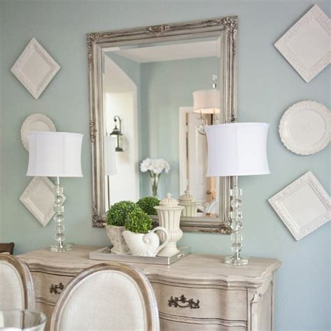 This Classic Duck Egg Blue Wall Colour Offers A Subtle Duck Egg Blue Bathroom Accessories