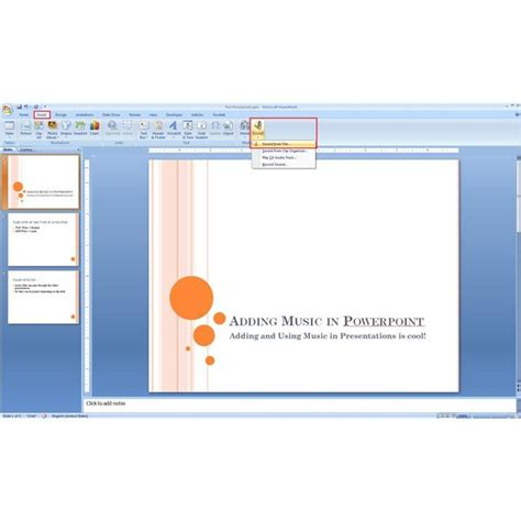 powerpoint tutorial windows 7 can you put music on microsoft powerpoint