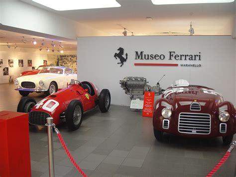 museo ferrari maranello village and ferrari museum mgt design