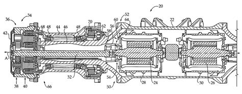 patent us8544579 axle assembly for electric drive