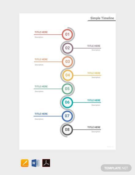 timeline templates  word excel google