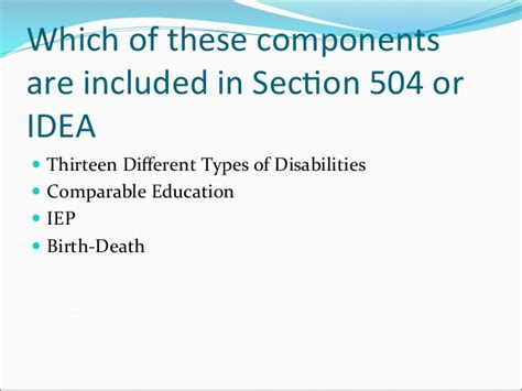 section 504 court cases what every educator should know about special education law