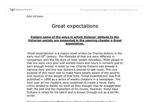Pips Expectations Essay by At Least One Other Person Edit Your Essay About Essays On Great Expectations