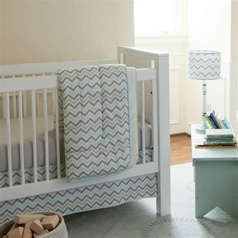 grey chevron bedding giveaway crib bedding set from carousel designs