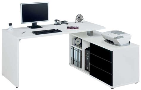 Corner Desks For Computers Jahnke Cpl560 White Corner Computer Desk