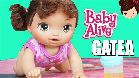 baby alive gatea la mu 241 eca bebe alive gatea toma jugo y hace pipi en su