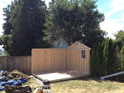 10 x 12 garden shed westcoast outbuildings