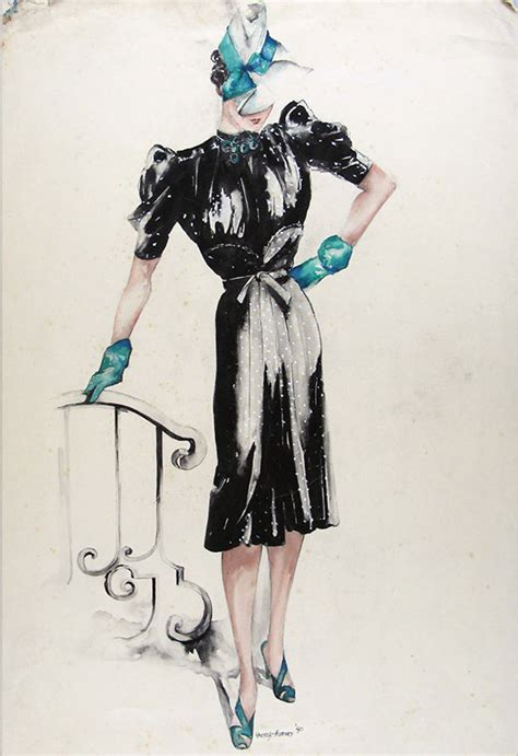 vintage fashion sketches dresses www pixshark