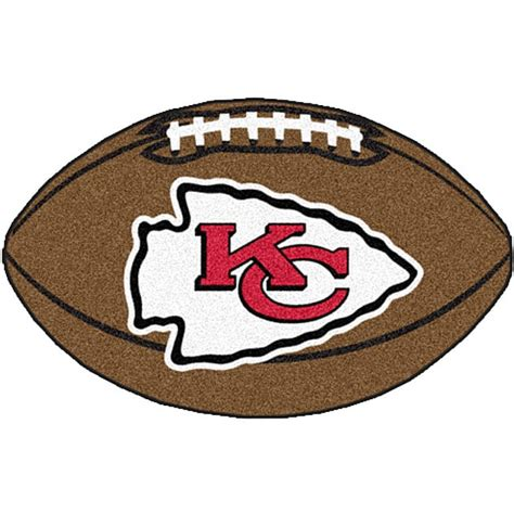 City Mat by Fanmats Nfl Kansas City Chiefs Football Mat Free