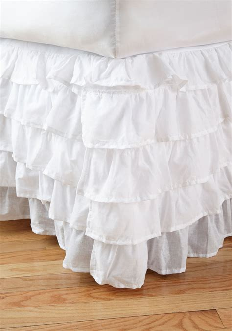 ruffle bed skirt best white ruffle bed skirt photos 2017 blue maize