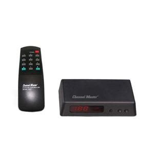 channel master  automatic tv antenna rotator control unit power supply universal remote outdoor