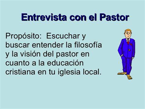 entrevista con el viro semana 3 entrevista con el pastor