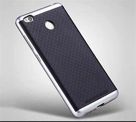 Ipaky Back Xiaomi Redmi 3s Silver 67 on ipaky hybrid ultra thin shockproof back bumper cover for xiaomi redmi note 3