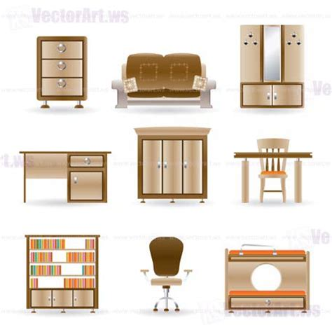 furniture clipart for floor plans 11 office furniture icons images office floor plan