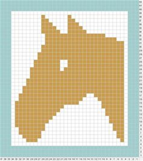 knitting pattern horse motif horse cheval counted cross stitch pattern grille point