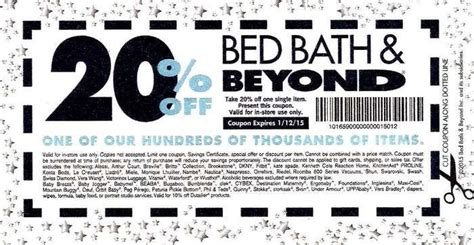 bed bath and beyond coupons in store bed bath and beyond coupon printable