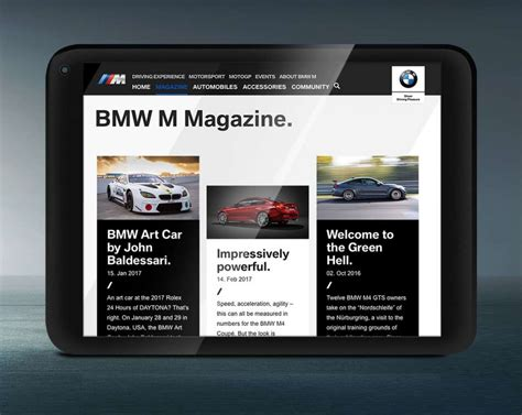 bmw web page bmw continues its redesign of its web pages autofreaks