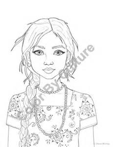 real people coloring pages sketch template - Coloring Pages People Realistic
