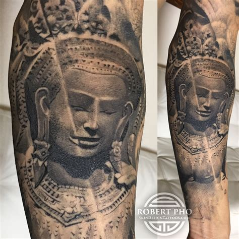 robert pho tattoo cambodian khmer apsara robert pho tattoos