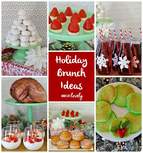 themes for christmas brunch holiday brunch and pancake wreath recipe make life lovely