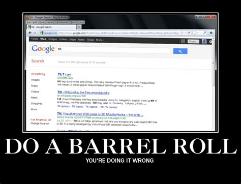 Barrel Roll Meme - image 195032 do a barrel roll know your meme